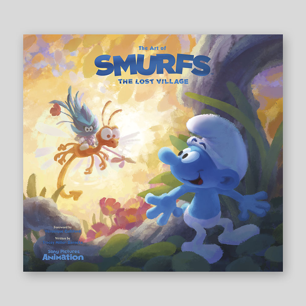 Kindle Book Missing Cover Art : The art of smurfs lost village cameron company